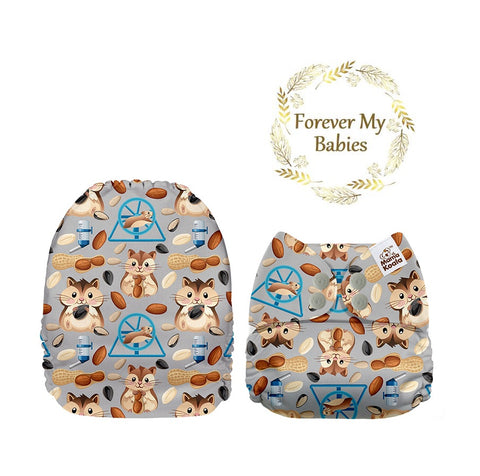 Mama Koala Cloth Diaper - Hamsters Exclusive (Upright) - IN STOCK