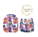Mama Koala Cloth Diaper - Lotus Exclusive (Upright Bum) - IN STOCK