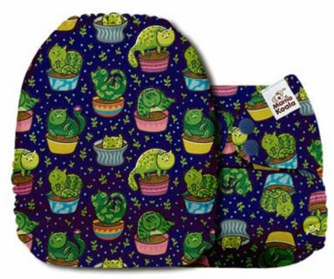 Mama Koala Cloth Diaper - Green Mart Cat-us - IN STOCK