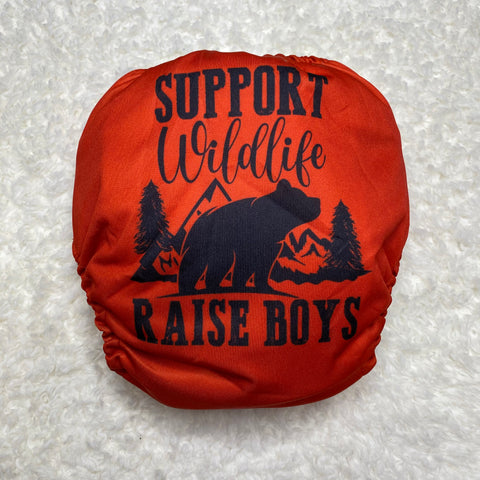 IN-STOCK Forever My Babies Cloth Diaper - Raise Boys