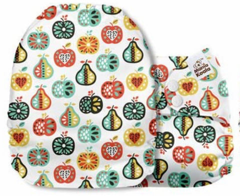 Mama Koala Cloth Diaper - Chipper Fruits - IN STOCK