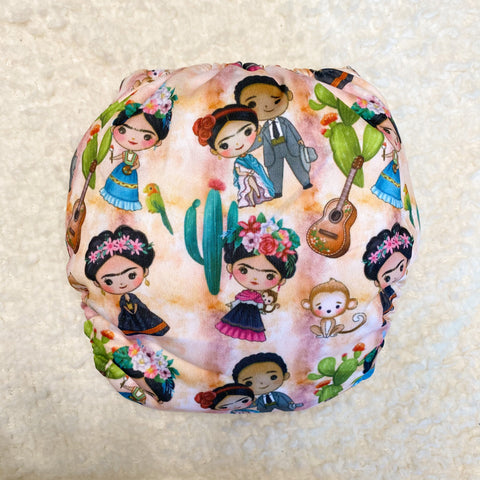 IN-STOCK Forever My Babies Cloth Diaper - Frida Kahlo