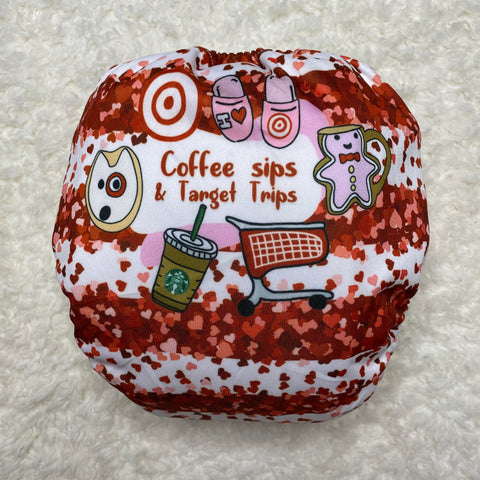 IN-STOCK Forever My Babies Cloth Diaper - Targét Trips & Coffee Sips