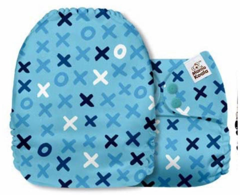 Mama Koala Cloth Diaper - Wild & Free Tic Tac Toe - IN STOCK