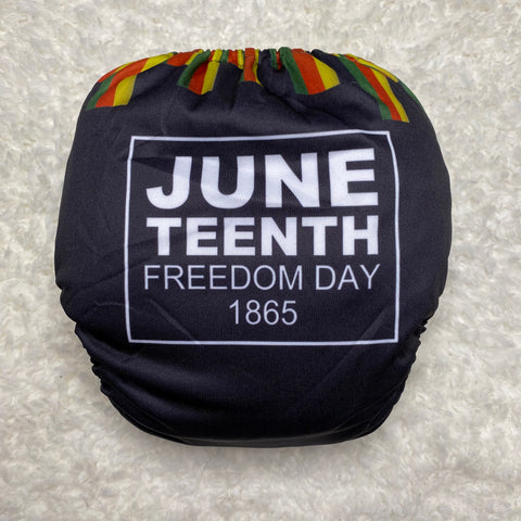 IN-STOCK Forever My Babies Cloth Diaper - Juneteenth