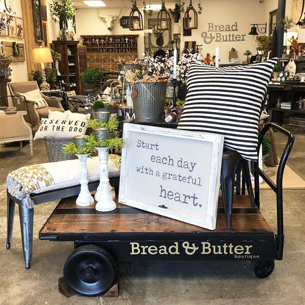 Shop view of Bread & Butter Boutique in Oregon City, Oregon