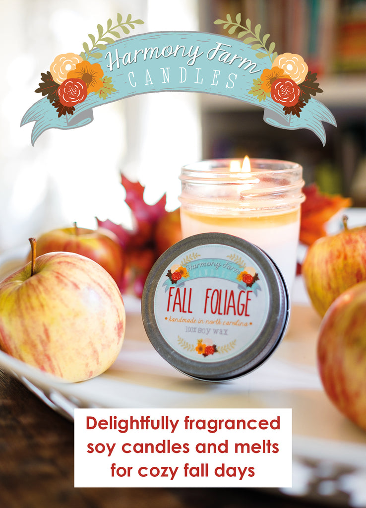 Wholesale Shelf Talker: Fall Foliage Jelly Jar