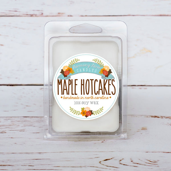Maple Hotcakes Soy Wax Melts in Clamshell
