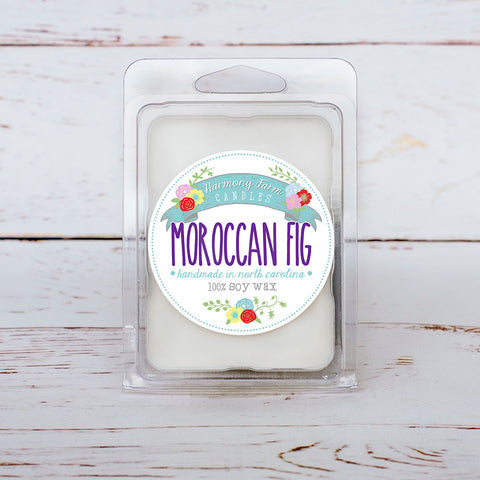 Moroccan Fig Soy Wax Melts in Clamshell