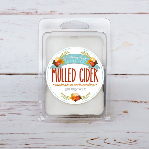 Mulled Cider Soy Wax Melts in Clamshell
