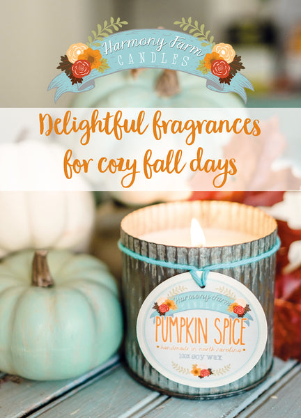 Wholesale Shelf Talker: Pumpkin Spice Zinc Jar