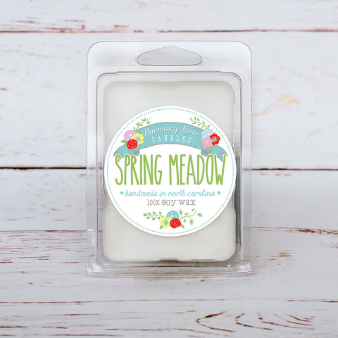 Spring Meadow Soy Wax Melts in Clamshell