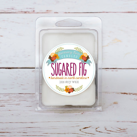 Sugared Fig Soy Wax Melts in Clamshell