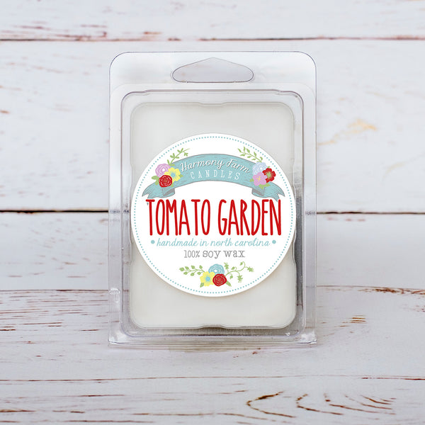 Tomato Garden Soy Wax Melts in Clamshell
