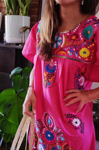Meg x RAICES: Cheerful Mexican Dresses with a Cause