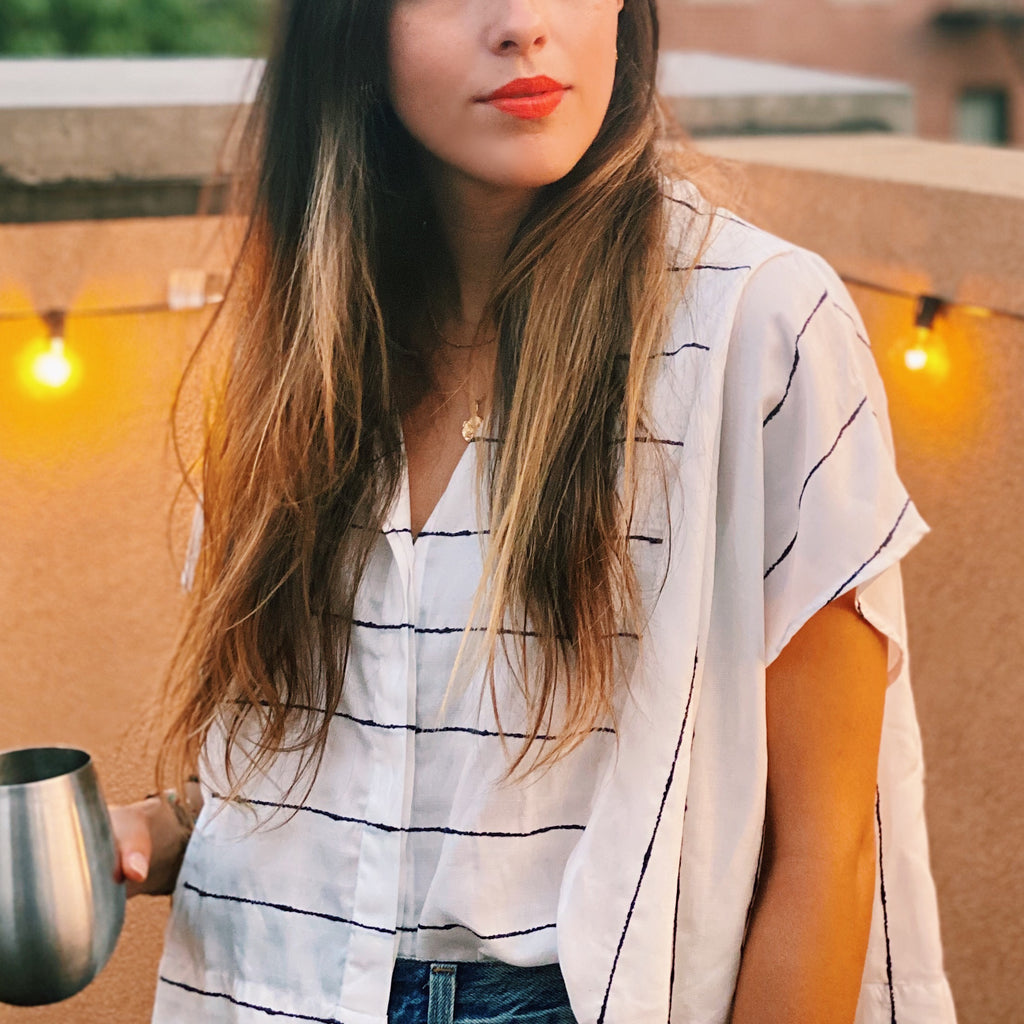 A Striped Button Up Made for Summer (and 3 ways to wear it)
