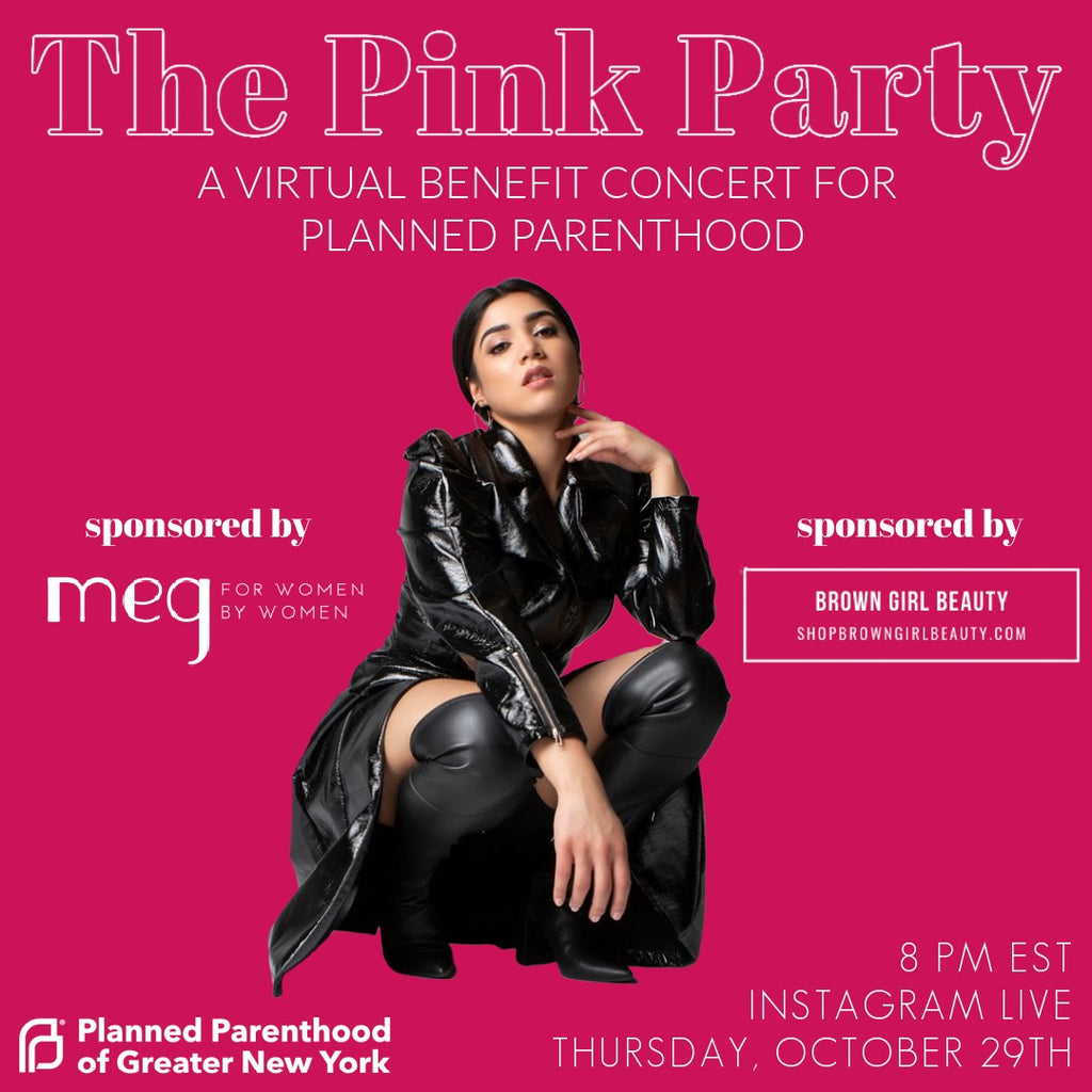We've Got Your Thursday Night Plans: A Virtual Benefit Concert for Planned Parenthood