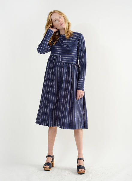 Adios Dress - Navy