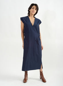 Athena Dress - Navy