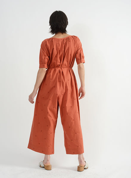 Barragan Jumpsuit - Terracotta