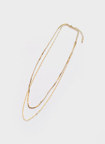 Blue Sky - Delicate Double Chain