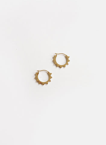 Blue Sky - Mini Sun Earrings