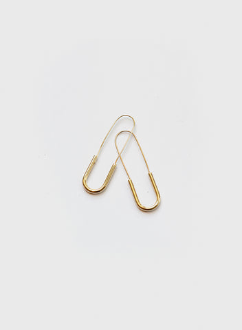 Blue Sky - U Shaped Earrings