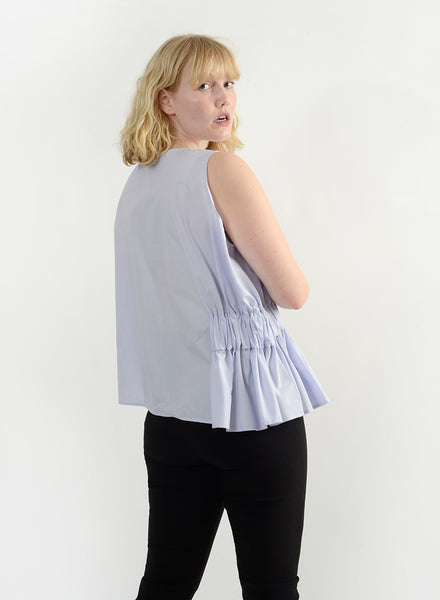 Elastic Side Top - Thistle