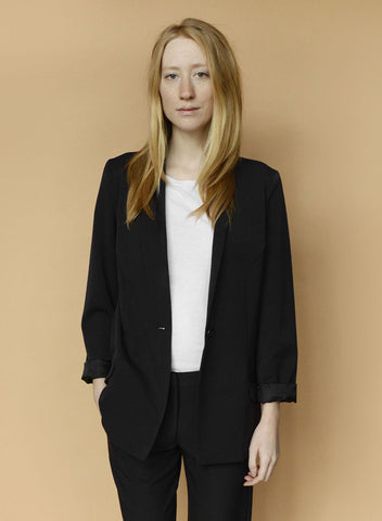 Column Jacket - Black - L