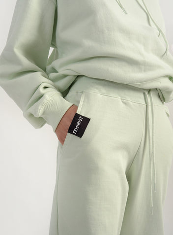 Feminist Sweatpant - Apple Green