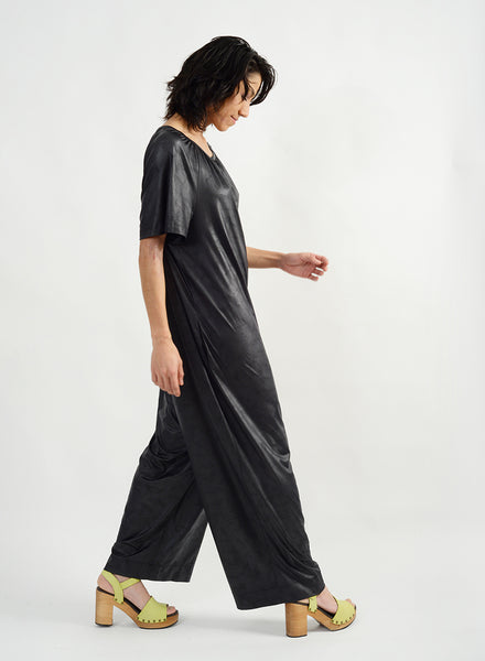 Gathered Neck Jumpsuit