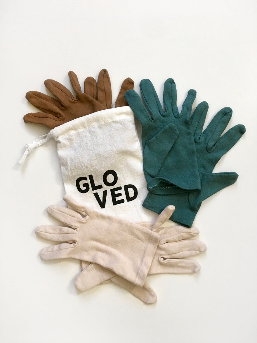 Noir Gloved Set