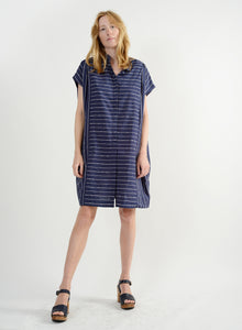 Hola Dress - Navy