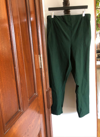 Dressy Joggers (Raul Pant) - Hunter Green - XL