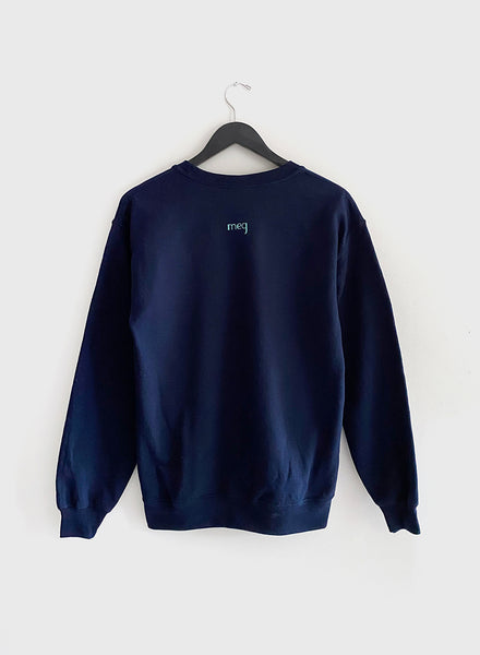 You're On Mute Sweatshirt - Navy