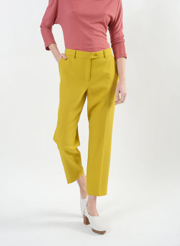 Kai Pant w/Button Ext - Mustard