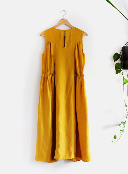 Luis Dress - Turmeric