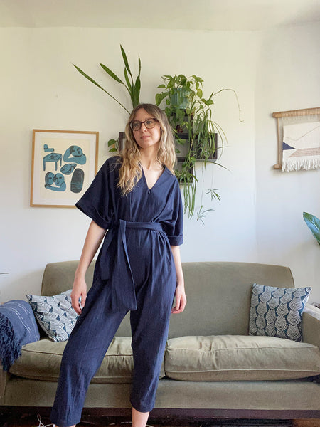 Mole Jumpsuit - Navy