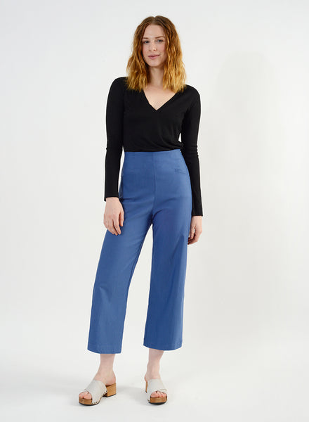 Odette Pant - Harbor Blue