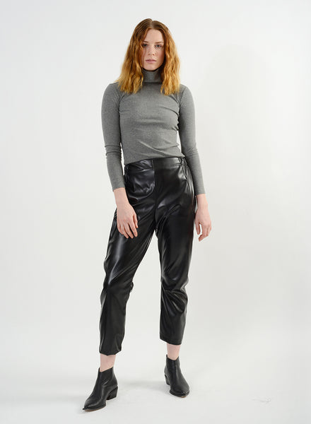 Pleather Raul Pant