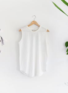 Rock and Roll Tank - White