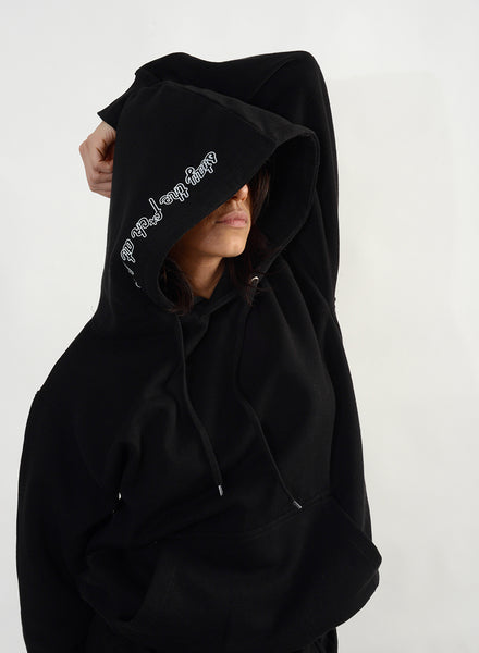 Stay The F*ck At Home Hoodie - Black