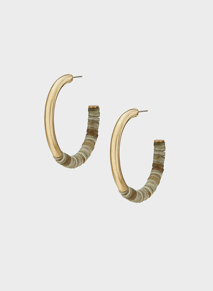 Soko - Karamu Horn Hoop Earrings
