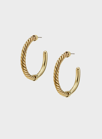 Soko - Uzi Hoop Earrings