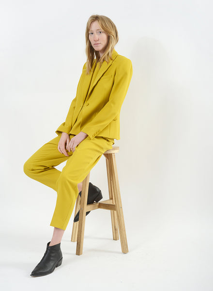 Suit Shell - Mustard