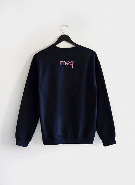 Tough Titties Sweatshirt - Navy / Pink