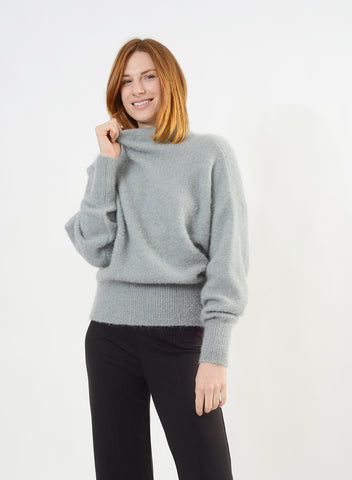 Funnel Neck Sweater - Mist