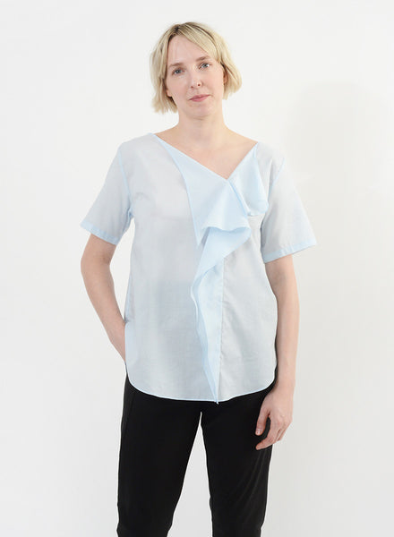 Handkerchief Top - Powder Blue