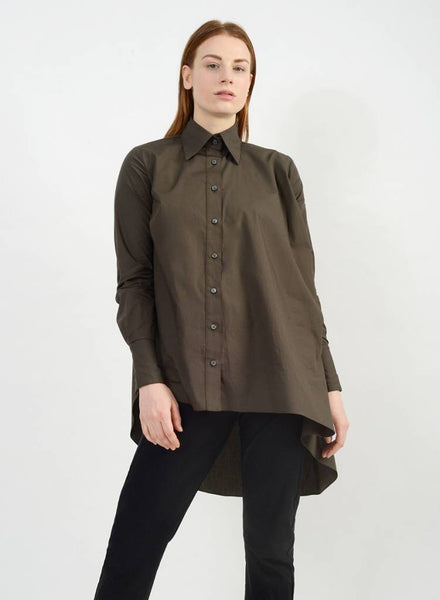 King Button Down - Olive