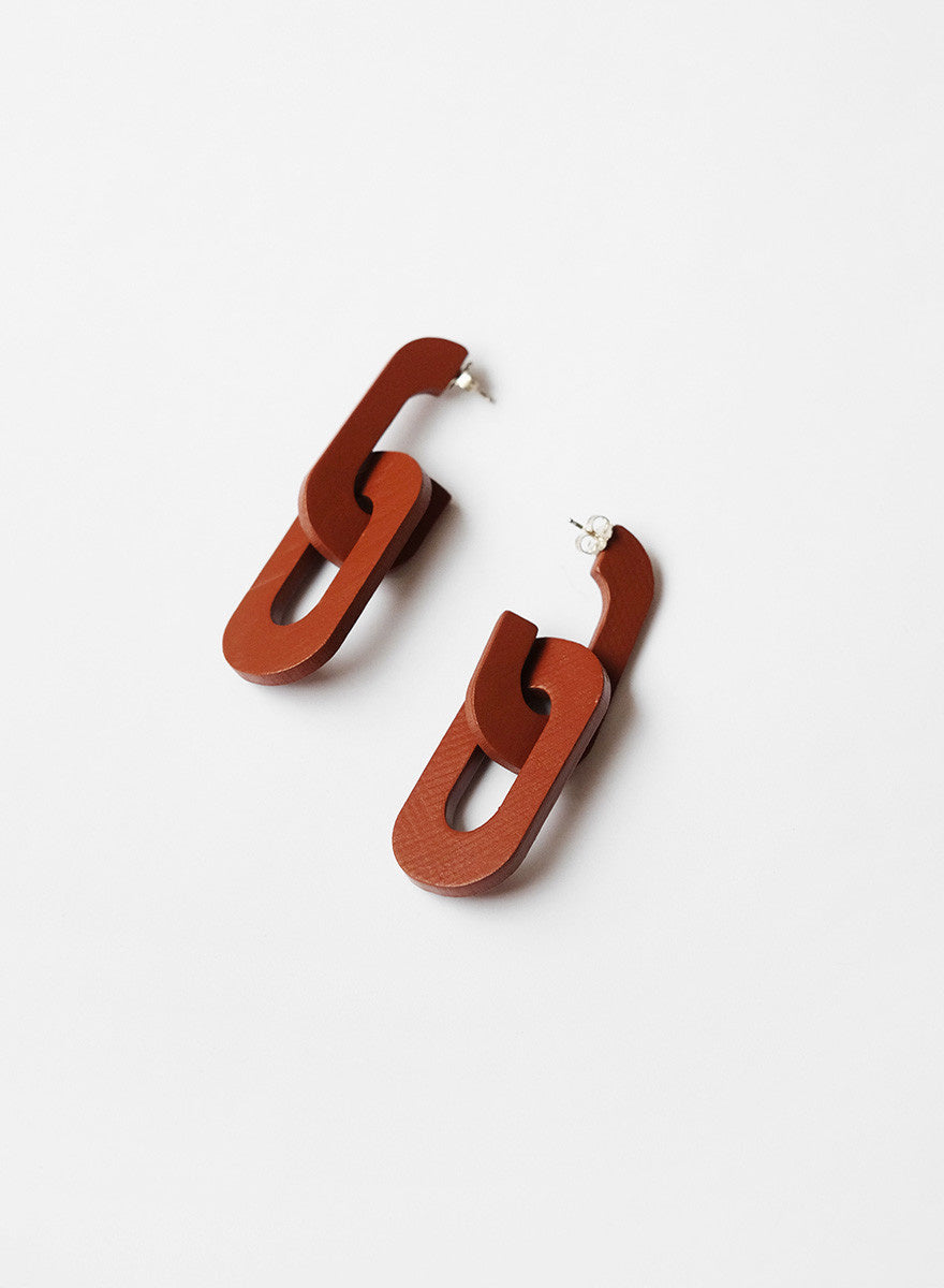 Lumafina - Dedalo Link Earrings